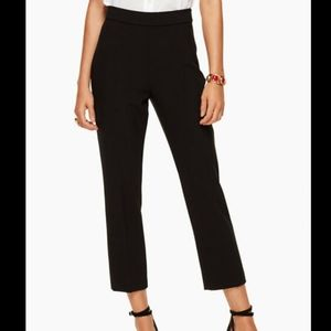 Kate Spade polished cigarette pants
